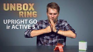 SVEIKA LAIKYSENA IR TRENIRUOKLIS KIŠENĖJE   UPRIGHT GO ir ACTIVE 5   Unbox Ring apžvalga
