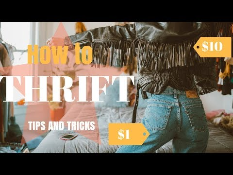 HOW TO THRIFT LIKE A PRO!  | THRIFTING TIPS AND TRICKS YOU NEED TO KNOW!