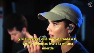 love yourself - halsey cover sub español