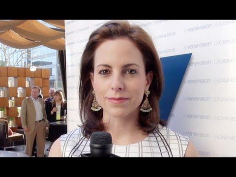 Adriana Cisneros, jefa de la Organización Cisneros, dice que competimos muy bien los latinos