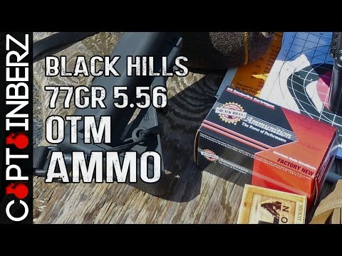 Black Hills 77gr OTM 5.56 Sierra MatchKing Ammunition