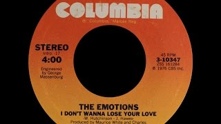 Baixar - The Emotions I Don T Wanna Lose Your Love 1976 Funky Purrfection Version Grátis