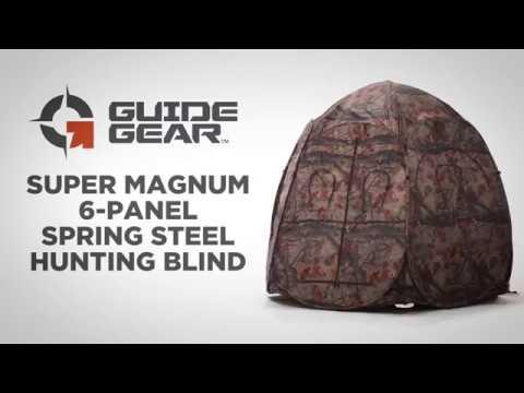 Guide Gear Super Magnum 6-Panel Spring Steel Hunting Blind