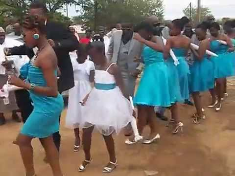kaelo and caroline's wedding in mahalapye,Botswana