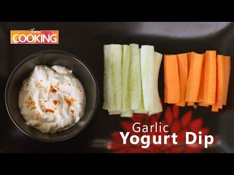 How To: Garlic Yogurt Dip | Ventuno Home Cooking