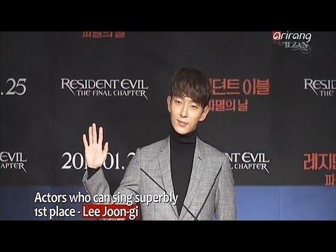 20170508 [Showbiz Korea] STAR CHARTS 'Which actors are excellent singers?'1st place_Lee Joongi 이준기