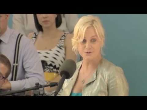 Amy Poehler at Harvard College Class Day