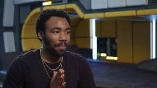 """Solo: A Star Wars Story: Donald Glover """"Lando Calrissian"""" Behind the Scenes Interview"""