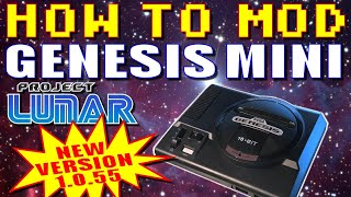 How to Mod a Genesis Mini with Project Lunar (LATEST VERSION!)