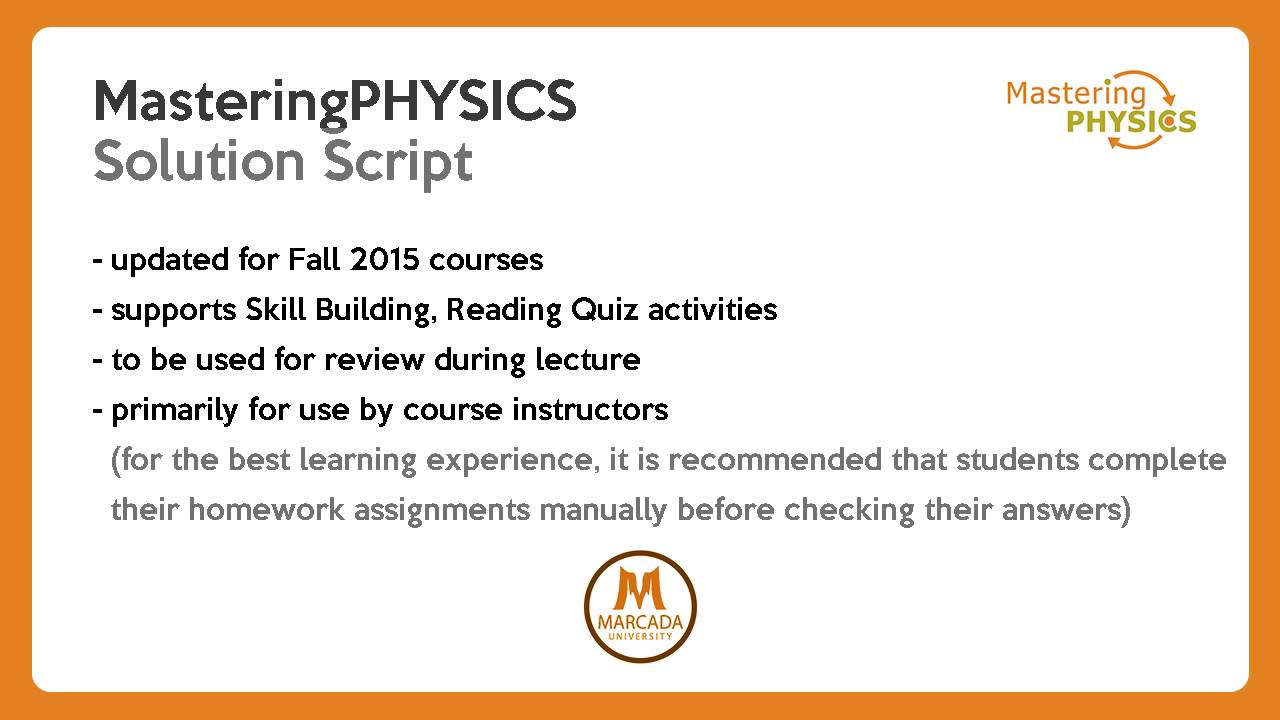 answers to mastering physics online homework durdgereport web answers to mastering physics online homework