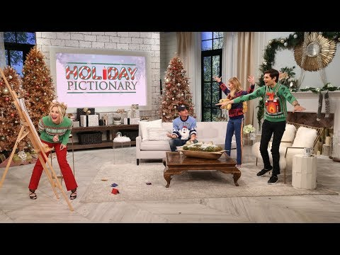 Faith Hill and Tim McGraw Play Holiday Pictionary with Kellie and Ben! - Pickler & Ben
