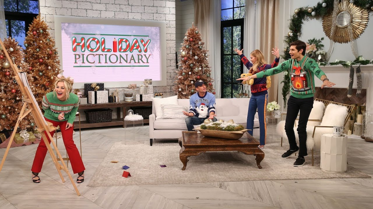 Everyone loves a great game of Pictionary at Christmas!