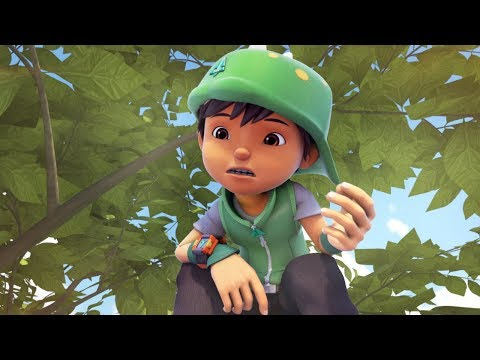 BoBoiBoy Daun Appearance