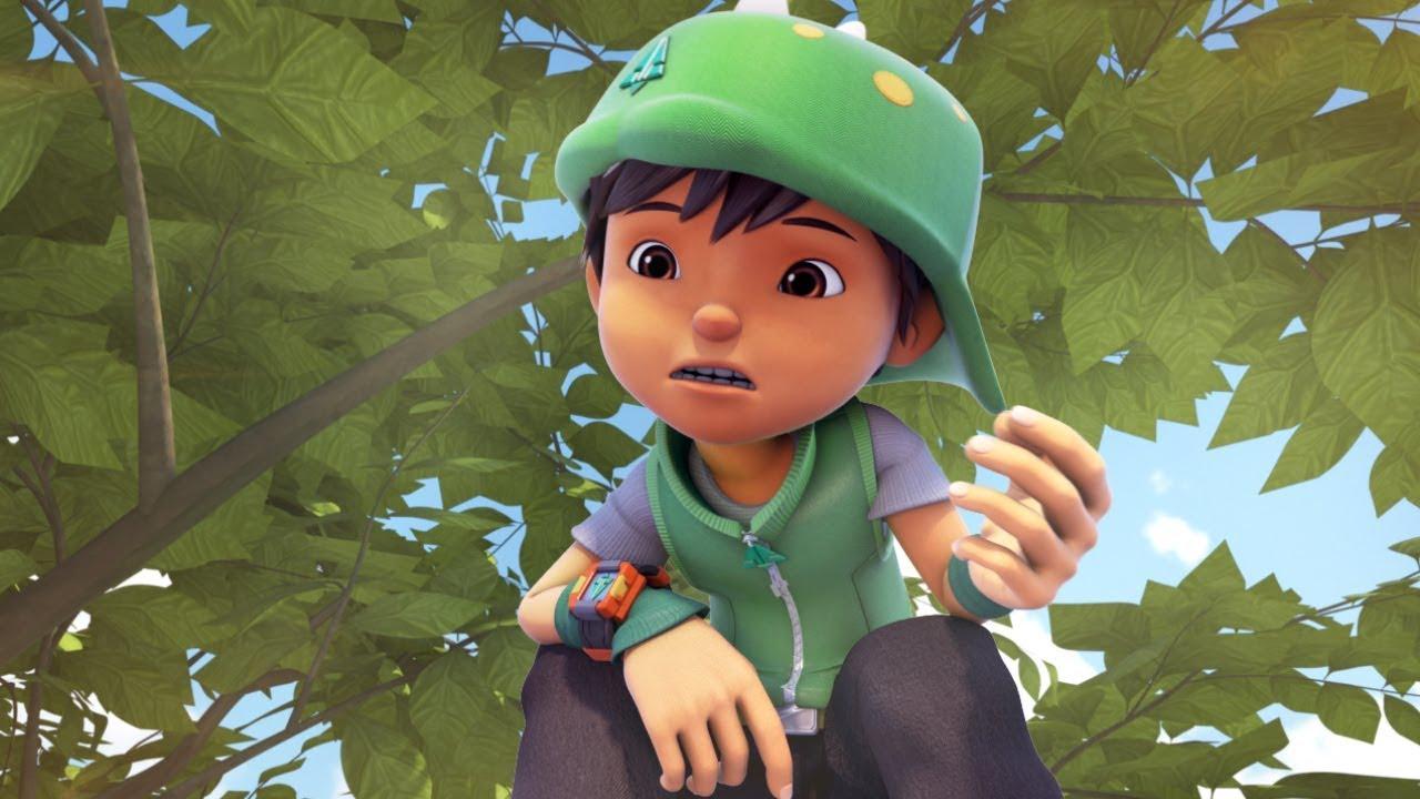 Download BoBoiBoy Daun appearance