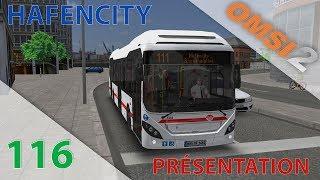 [OMSI 2] Episode n°116 : Découverte du DLC HafenCity : Bus Hybrides, Quartier Portuaire, Vélos...