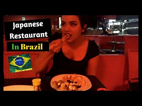 Come With Me To Japanese Restaurant in Brazil!