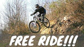 MTB - Free Ride Torino (Superga) - Vlog in Discesa