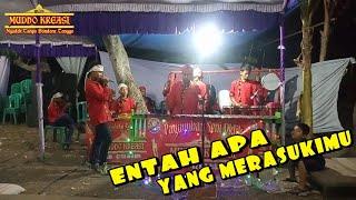 ENTAH APA YANG MERASUKIMU Cover Oklik MUDHO KREASI, Show Desa Kedaton 19 Oktober 2019.
