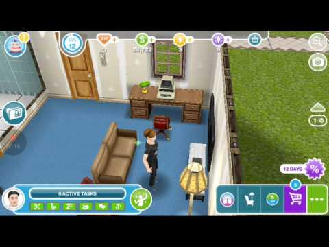 Look up a locksmith on a computer sims freeplay - YouTube