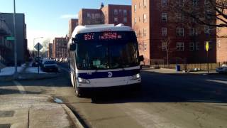 "MTA New York City Bus 2015 New Flyer Industries ""Xcelsior"" XD40 7193 on the B57!"