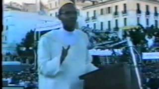 الشيخ علي بن حاج يكشف مؤامرات النظام المستبد سنة 1991