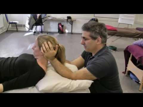 Neck Mobilization Massage technique