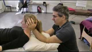 Neck Mobilization Massage technique