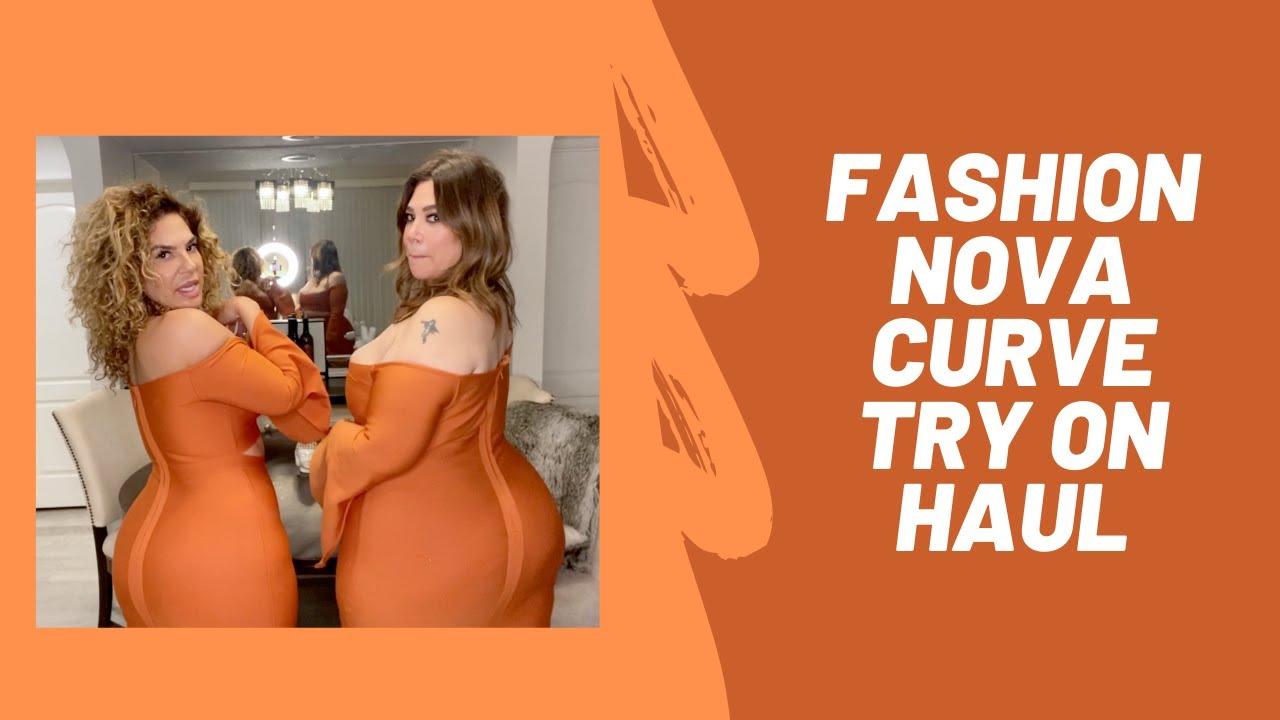 Curvy fashion, plus size Fashion Nova Try on Haul