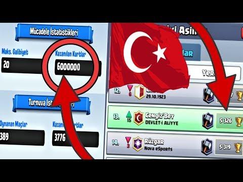 MÜCADELE HİLESİNİ BULAN ADAM ve TÜRKİYE'DE İLK 10 !!! - Clash Royale