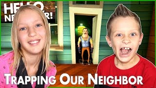 Trapping The Neighbor in Alpha 3