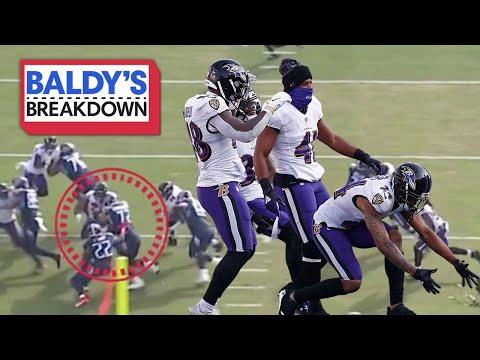 Breaking Down how the Ravens Defense Dethroned the King   Baldy Breakdown