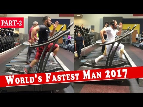 Fastest Treadmill Runner In The World | Running Speed Of 23.9 MPH | Luis Badillo Jr #2