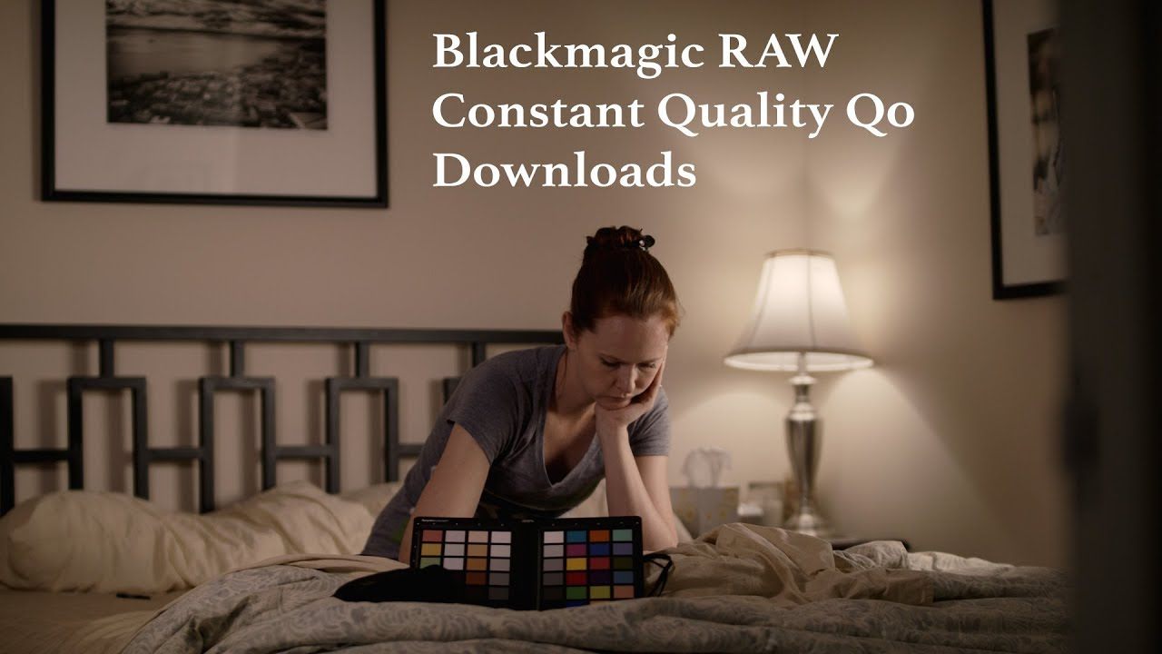Blackmagic RAW Test with DOWNLOADS!!