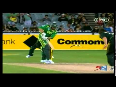 Albie Morkel and Johan Botha | Winning Partnership (51) | SA Tour of AUS 2008/09 | 1st ODI