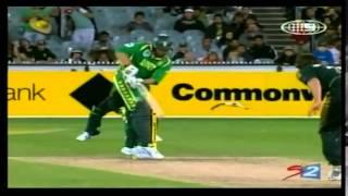 Albie Morkel and Johan Botha | Winning Partnership (51) | SA Tour of AUS 2008/09 | 1st ODI