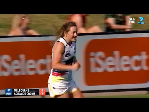 AFLW Highlights R7: Ailish walks into goal number two