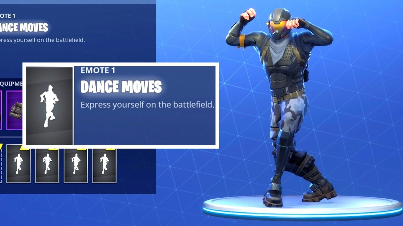 Fortnite Dance Dance Moves 1 Hour