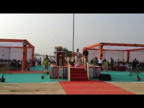 Speech of Hon'ble Minister Shree Vijaybhai Rupani 66th Republic Day's Celebration at Jambughoda
