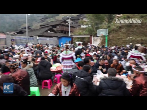 Miao people in Guangxi enjoy first traditional New Year holiday