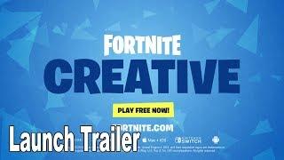 Fortnite - Creative Launch Trailer [HD 1080P]