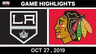 NHL Highlights   Kings vs. Blackhawks – Oct. 27, 2019