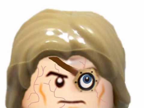Lego Mad Eye Moody Custom Minifigure
