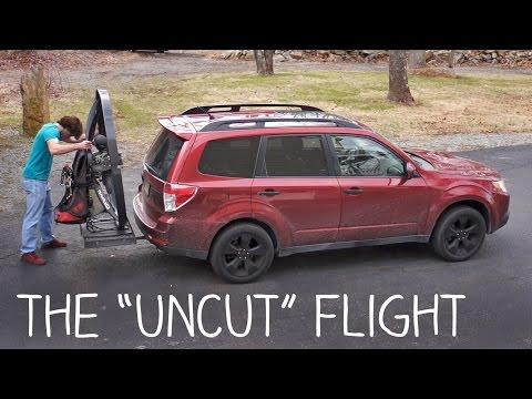 The Portable Personal Flying Machine - Uncut Flight