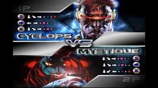 X-men Mutant Academy 2 Cyclops Arcade