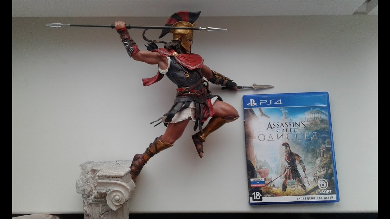 Unboxing Spartan Edition Assassin S Creed Odyssey Statues Alexios