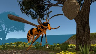 Insect Wasp Simulator 3D - Let's Play Video