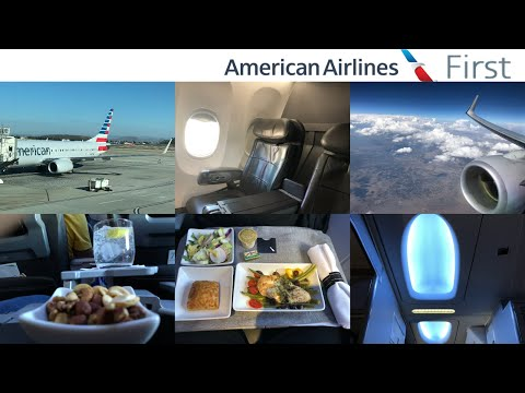 American Airlines FIRST Class: Dallas to Ontario