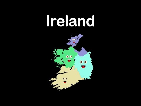Republic of Ireland 26 CountIreland/Republic of Ireland Provinces and Capitals