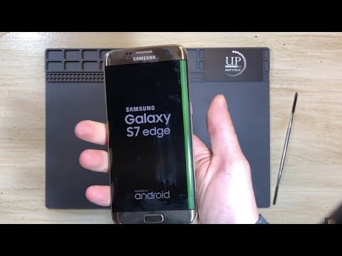 "Ремонт Samsung S7 Edge разборка, замена дисплея, экрана  --- СЦ ""UPservice"" г.Киев"