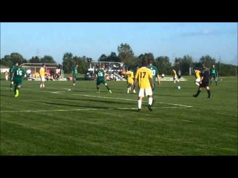 Lakeland/St. Norbert men's soccer highlights - Sept. 17, 2014